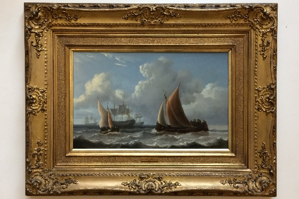 GeorgianSeascape.Frame.C.M.Powell.
