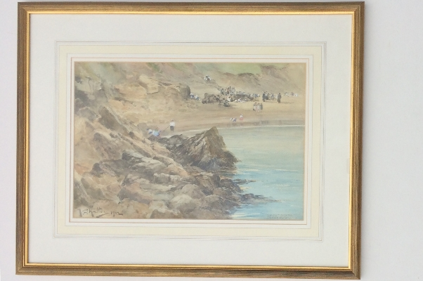Short Sands,Tynemouth.Frame.T.S.Hutton