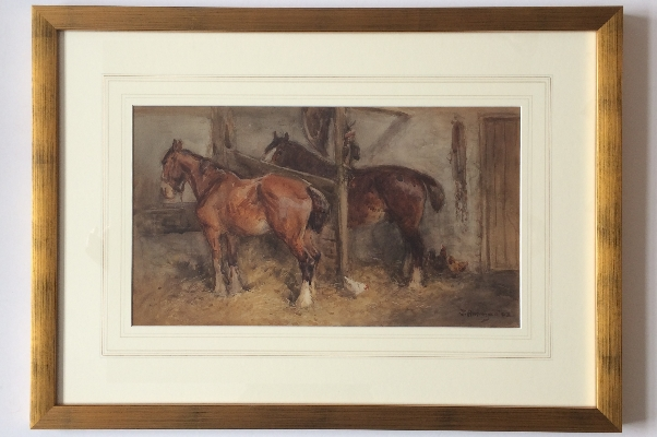 In the Stable.Frame.J.Atkinson