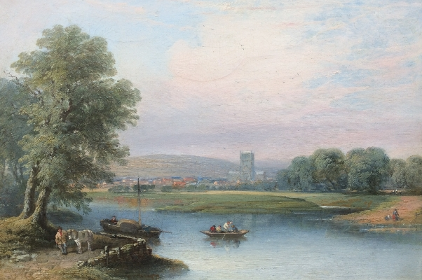 The Ferry.Tewkesburry.G.William Pitt