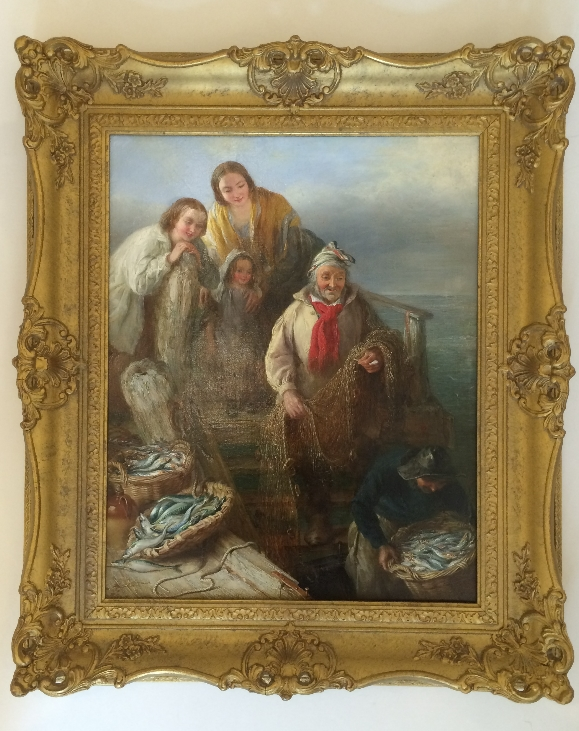 The Fisherman's Family.Frame.H.P.Parker.