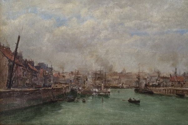 The Old Quay.F.A.Winkfield.