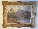 The Trossachs.Frame.A.F.de Breanski.