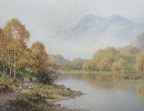 Ben Venue.The Trossachs.H.S.Palmer.
