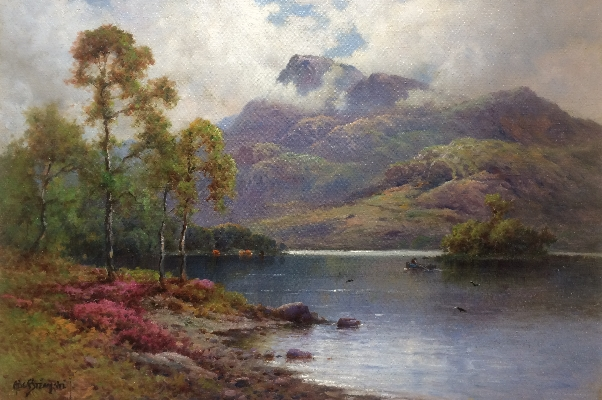 Trossachs.A.F.Breanski