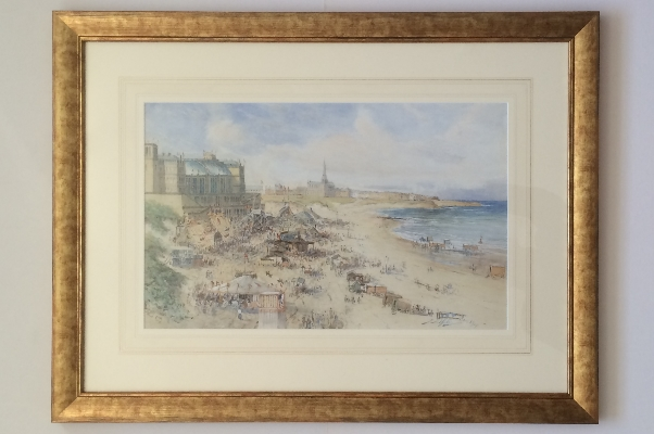 Tynemouth Plazza.Frame.T.S.Hutton