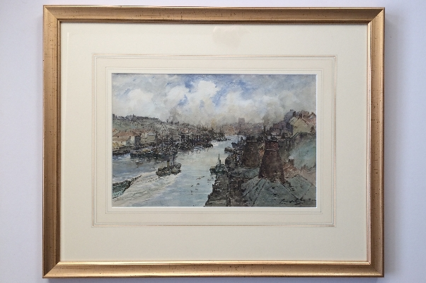 The Wear, Sunderland.Frame.T.S.Hutton