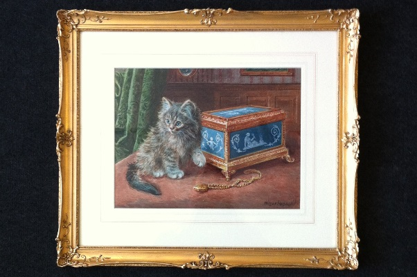 Wilson Hepple. Cat and Pendant Frame.