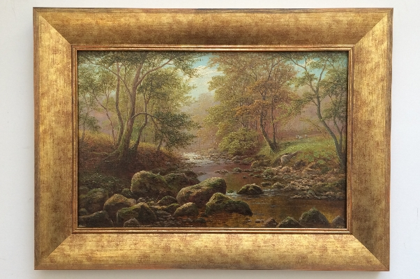 Bow Beck, Middleton, Nr Ilkley. Frame. William Mellor