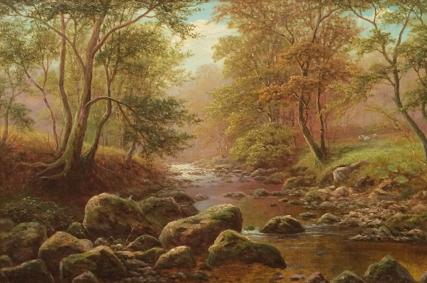Bow Beck, Middleton, Nr Ilkley. William Mellor