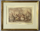 The Woolpack Inn.Frame.Thomas Rowlandson