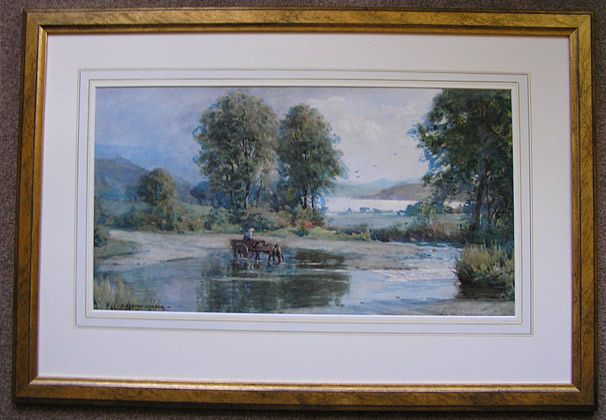 Alfred Heaton Cooper painting