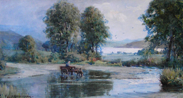 Alfred Heaton Cooper - Waters Edge