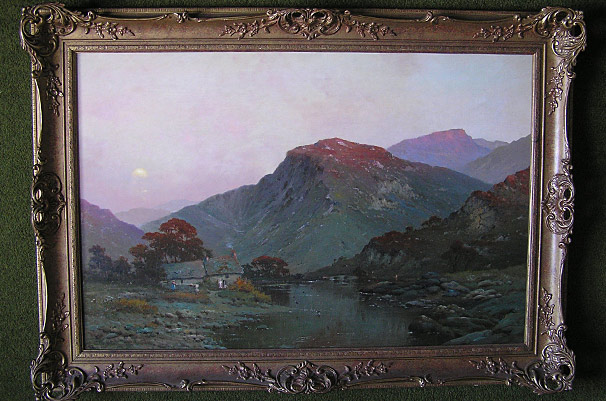 Alfred de Breanski welsh painting