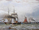 WTN Boyce - Steam and Sail off South Shields