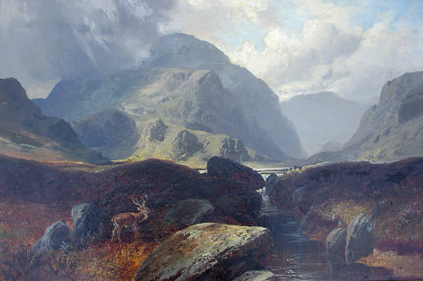 Clarence Roe The Highlands, Argyleshire