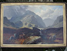 Clarence Roe Scotland painting