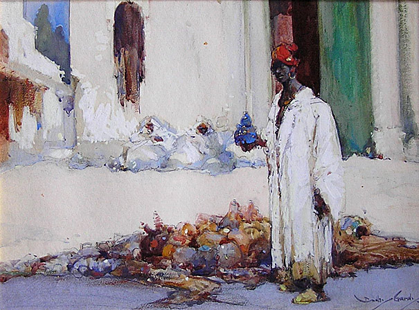 Dudley Hardy, Fruit Seller, Algiers