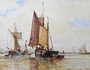 FJ Aldridge - On the River Adur