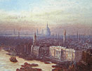 Fred Goff - London with St Pauls