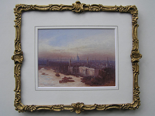 Frederick Goff painting- London with St Pauls
