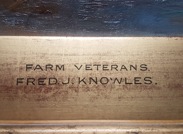 Farm Veterans. F.J.Knowles_eng