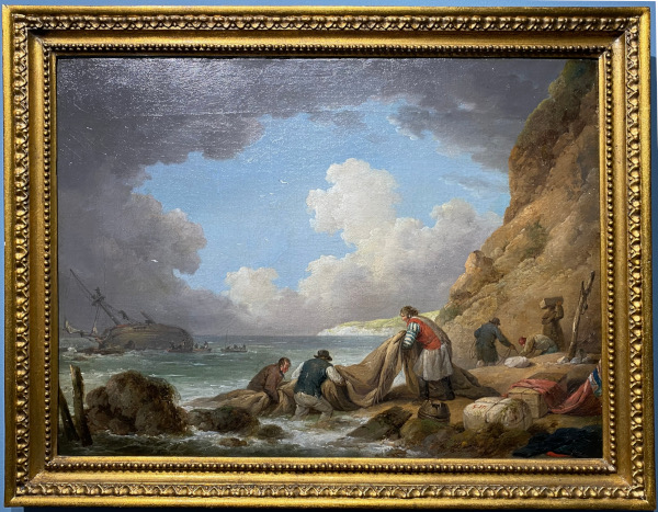 George_Morland-shipwreckers-framed