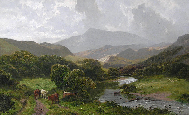 James Peel - On the Lledr, Wales