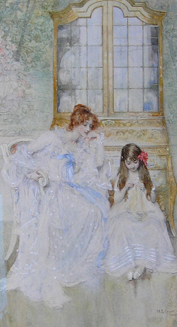 Marie Louise Gow painting