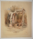 Myles.Birket.Foster_at_the_well-out-of-glass