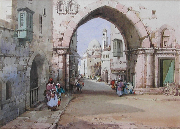 Noel Harry Leaver - Archway, Morrocco