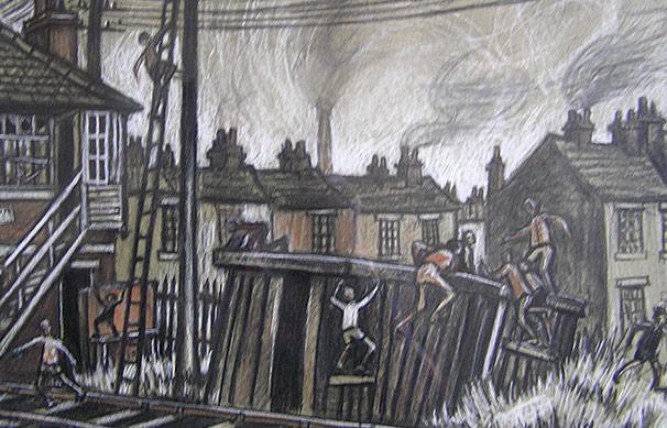 Norman Cornish 1919 2014 The Signal Box For Sale