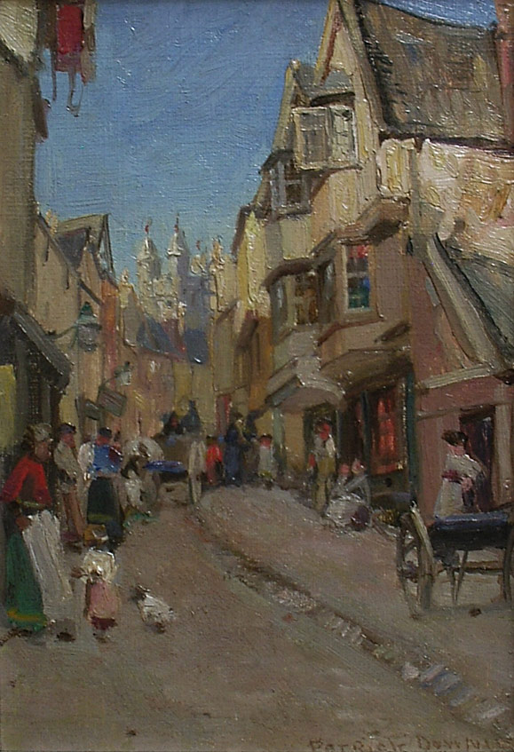 Patrick Downie, old houses Exeter