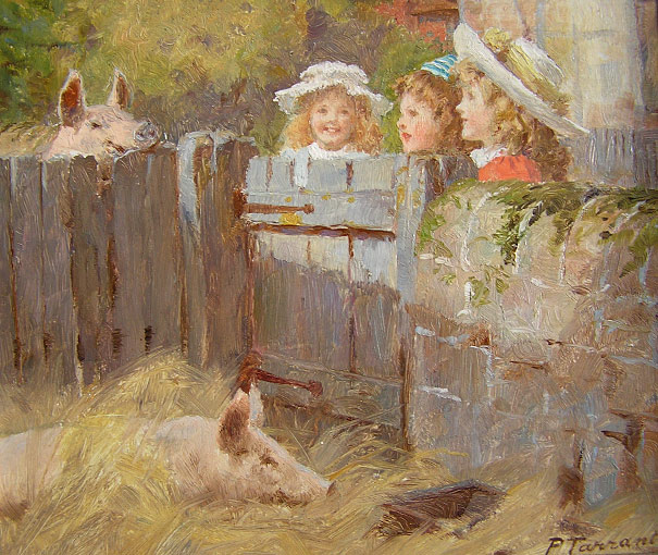 Percy Tarrant - A Peep at the Pigs
