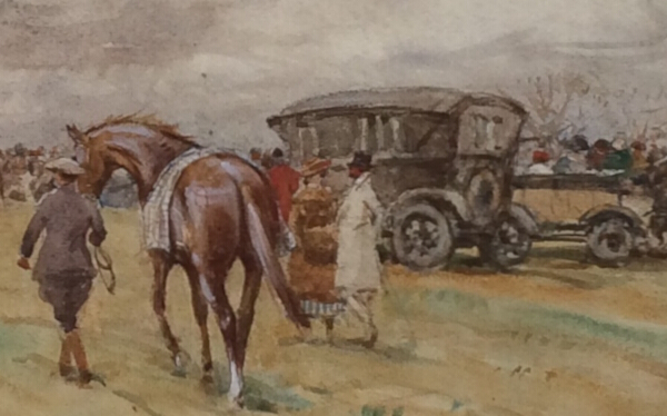 Morpeth Point to Point. charabanc J.Atkinson.