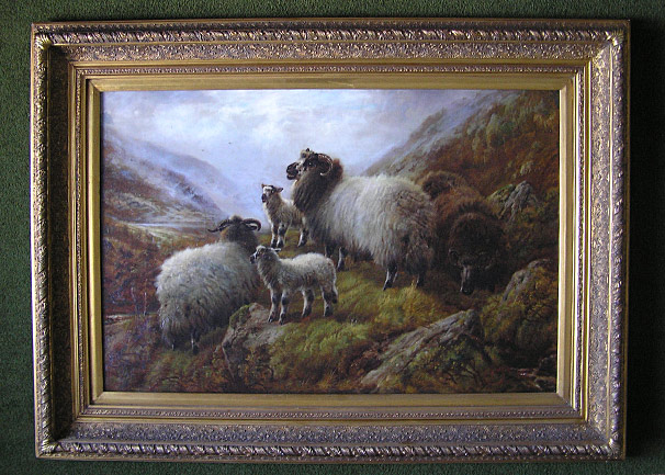 Robert Watson - Sheep painting