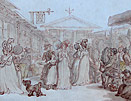 Thomas Rowlandson, Convent Garden, London
