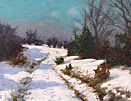 Rudolph Onslow Ford - First tracks in the Snow