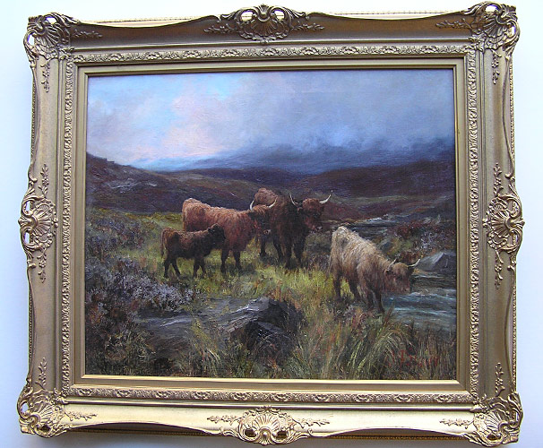 JF Slater - Scottish painting