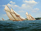 Stephen Reynard Schooners on Solent