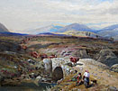 Thomas Miles Richardson, Drovers above Loch Tay