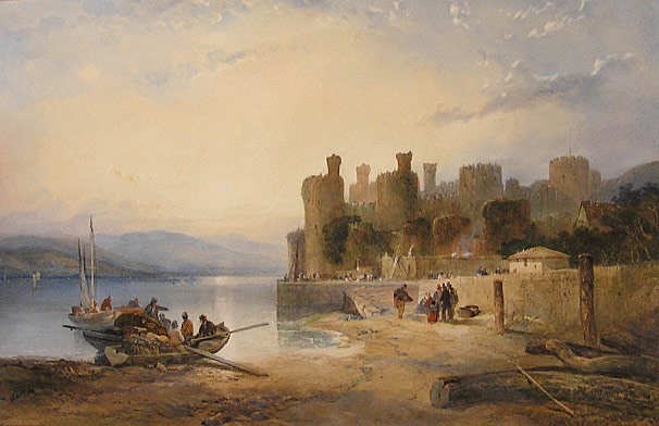 Thomas Miles Richardson, Caernarfon Castle