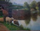 William_Sidney_Cooper_Sheep_Kent_canal