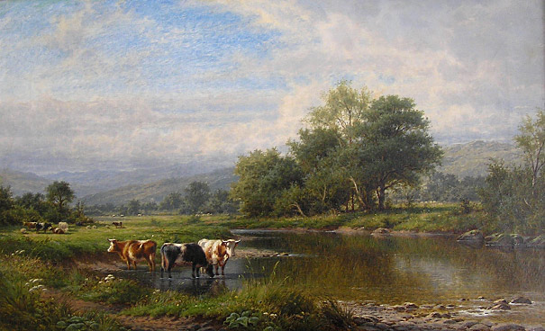 Walter J Watson: On the Mackno, Wales