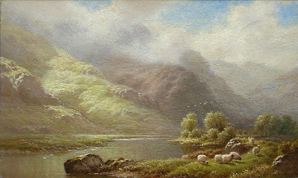 Walter J watson On the Glaslyn, North Wales