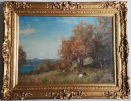 ernest.waterlow.spring.in.riviera.frame