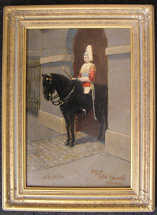 W Henry White - Horse Guard London