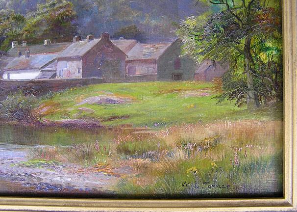 William Lakin Turner (1867-1936), Grange in Borrowdale for