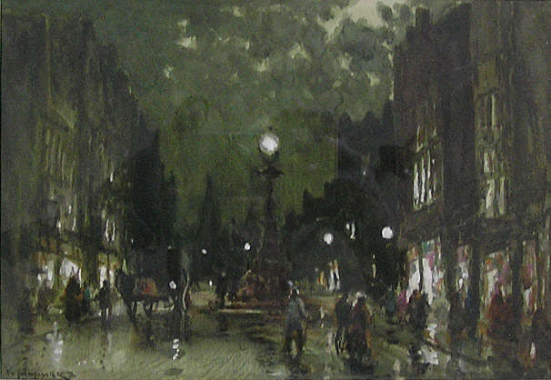 William Manners Kendal at Night