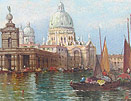 William Meadows Venice oil